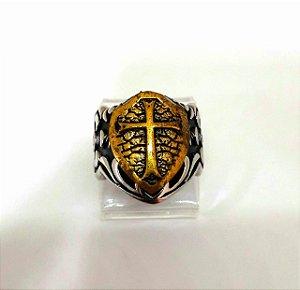 Anel escudo templário