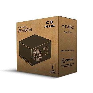 Fonte C3Tech ATX 200W PS-200V4 S/Cabo 2