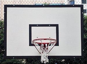 Tabela de basquete  1,80M X 1,05M em laminado naval