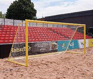 Trave de futebol de areia 500 x 220 x 150 metros