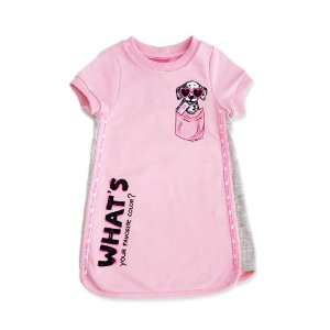 VESTIDO DOG ROSA MM