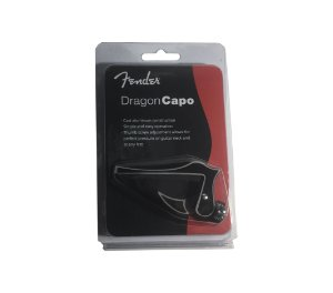 Capotraste Fender Dragon Capo para Guitarra e Violão Aço