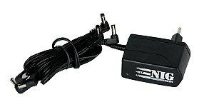 Fonte para Pedal Nig Nf61 9v 6 Saídas Pedais Bivolt Estabilizada