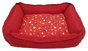 Cama Retangular Pet Soft Comfort 58cm x 48cm