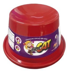 Comedouro Alto para Gatos Super Cat