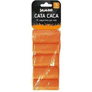 Refil Sacolas Biodegradáveis Cata Caca Jambo Pet 75 metros