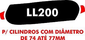 K - Camisa molhadora tipo MOLETOM LL200 para cilindros com diâmetro de 74 a 77 mm