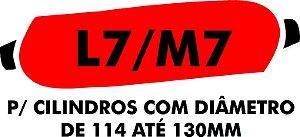 F - Camisa molhadora tipo MANCHÃO L7/M7 para cilindros com diâmetro de 114 A 130 mm