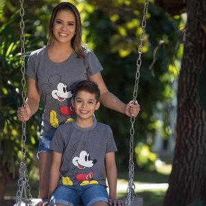 T-shirt Estampada Mickey