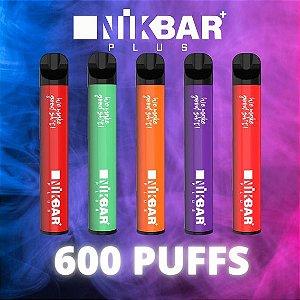 Nikbar Plus Pod Descartável - NIKBAR