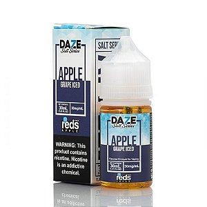 NicSalt Grape Iced 30mL Reds Apple - 7DAZE