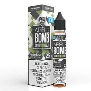 NicSalt Apple BOMB Iced 30mL - VGOD SaltNic