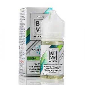 BLVK Salt Plus - Sour Apple Nicsalt 30mL - BLVK Unicorn
