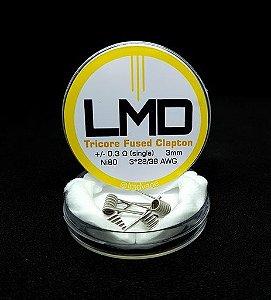 Coil Tricore Fused Clapton (Resistências) 4un - LMD