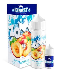 #My Peach Ice Zomo Iceburst 60mL - Zomo