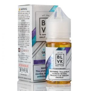 BLVK Nic Salt Plus Grape Ice 30mL - BLVK Unicorn