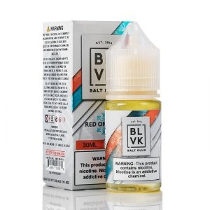 BLVK Nic Salt Plus Red Orange Ice 30mL - BLVK Unicorn
