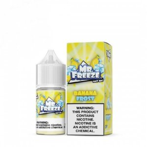Mr Freeze NicSalt Banana Frost 30mL - Mr. Freeze E-Liquids