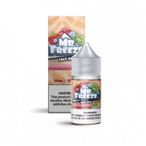 Mr Freeze NicSalt Strawberry Kiwi Pomegranate Frost 30mL - Mr. Freeze E-Liquids
