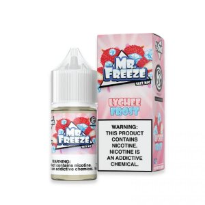 Mr Freeze NicSalt Lychee Frost 30mL - Mr. Freeze E-Liquids