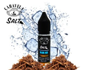 Salt Blue Ice Tobacco 15mL - Caravela Liquids