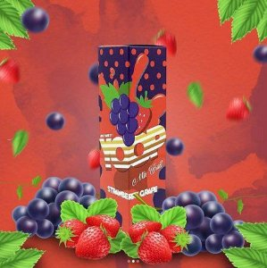 Juice Yoop Strawberry Grape 60mL - Yoop Vapor