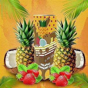 Juice Yoop Pineapple Strawberry Coco 60mL - Yoop Vapor