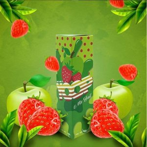 Juice Yoop Strawberry Apple 60mL - Yoop Vapor