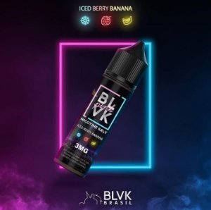 BLVK Pink Iced Berry Banana 60mL - BLVK Unicorn