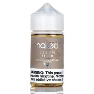 Juice Naked Cuban Blend 60mL - Naked 100 Tobacco