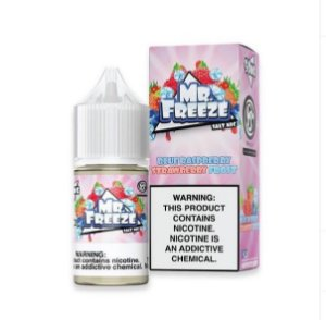 Mr Freeze NicSalt Blue Raspberry Strawberry Frost  30mL - Mr. Freeze E-Liquids
