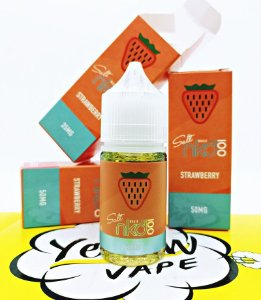 Naked Nic Salt Strawberry Ice 30mL - NKD 100