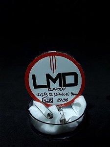 Coil Clapton DL Ni90 (Resistências) 6un - LMD