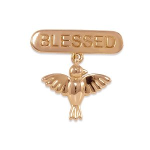 BROCHE BLESSED VINDE DIVINO PETIT