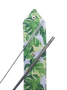 Kit Canudo inox 6 mm reto - Amazônia