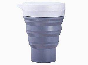 Copo Reutilizável menos 1 lixo - CINZA
