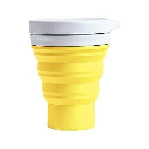 Copo Reutilizável menos 1 lixo - GIRASSOL