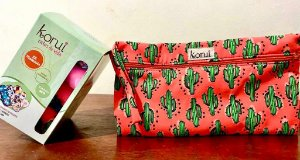 Kit bolsa impermeável Cactus laranja + Kit moderado Conforto Seco