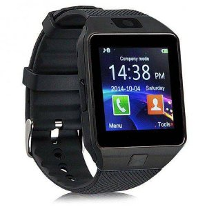 RELÓGIO BLUETOOTH SMARTWATCH DZ09 TOUCH PRETO