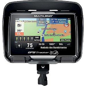 Navegador Gps Multilaser Tracker Para Moto Tela 4.3 Pol. - GP040