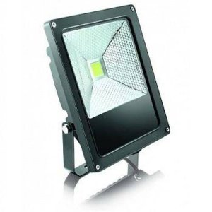 Refletor Led Power 30w 6500k Preto Elgin