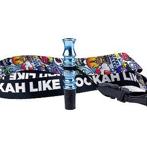 Piteira Higiênica Hookah Like - Azul Claro