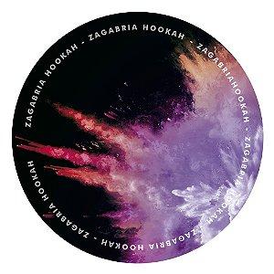 Tapete Zagabria Hookah Smoke - Roxo