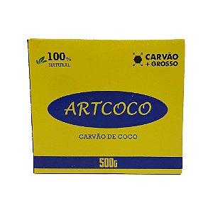 Carvão Artcoco Grosso (Importado) - 500g