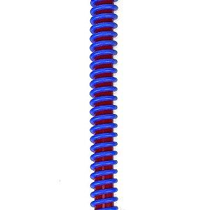 Silicone Refil ZH Helix - Vermelho com Azul Escuro