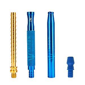 Piteira Triton X Handle - Azul/Dourado