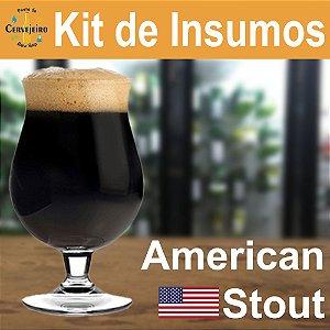 Kit Insumos American Stout Ponto