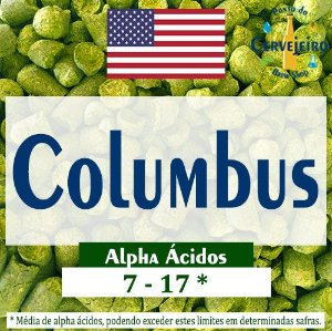 Lúpulo Columbus Americano - 50g