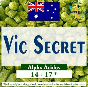 Lupulo Vic Secret Australiano - 50g