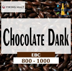 Malte Chocolate Dark Viking (900 EBC) - Kg